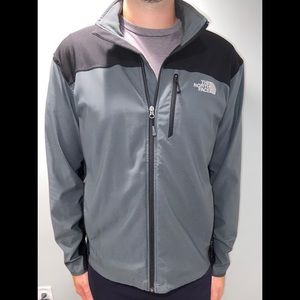 North Face Grey & Black Lightweight Jacket